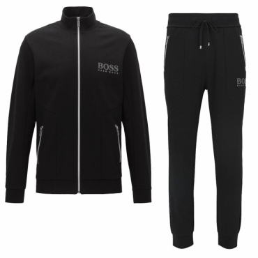 Hugo Boss Zip Up Tracksuit Black 50378254