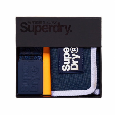 Superdry Lineman Gift Set Dark Navy 24S