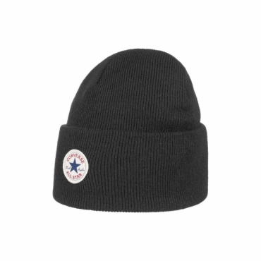 Converse Black Basic Beanie Hat CON588