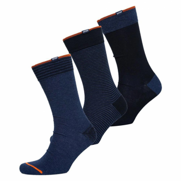 Superdry City Sock 3 Pack Navy Mix IG6