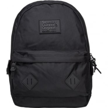 Superdry Noir Montana Backpack Bag Black 02A