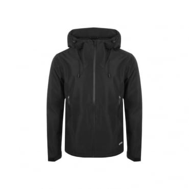Superdry Hooded Elite Windcheater Jacket Black 02A