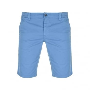 Boss Orange Schino Slim Chino Shorts Bright Blue 50382652