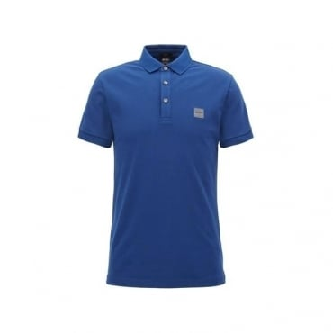 Boss Orange Passenger Pique Polo Mid Blue 50378334