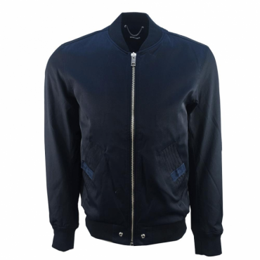 Diesel J-Gate Navy Zip Bomber Jacket