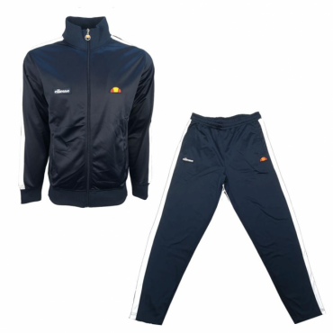 Ellesse Cervino Navyy Zip Up Poly Tracksuit