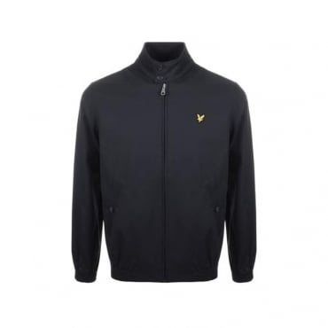 Lyle & Scott Navy Collared Bomber Jacket JK807V