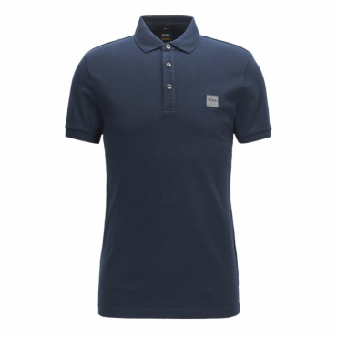 Boss Orange Passenger Pique Polo Navy 404 50378334