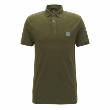 Boss Orange Passenger Pique Polo Khaki Green 302 50378334