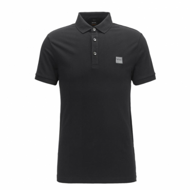 Boss Orange Passenger Pique Polo Black 001 50378334