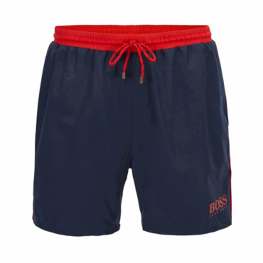 Hugo Boss Starfish Swim Shorts Navy 414 50269488