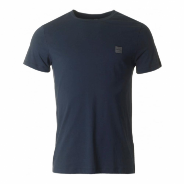 Boss Orange Tommi UK Plain T-Shirt Navy Blue 405 50328440