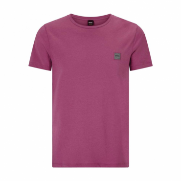 Hugo Boss Tommi UK Plain T-Shirt Magenta 505 50328440