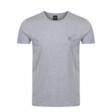 Boss Orange Tommi UK Plain T-Shirt Grey 030 50328440