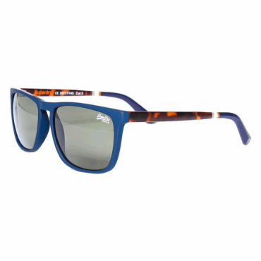 Superdry SDR Alumni Sunglasses Rubberised Navy ST7