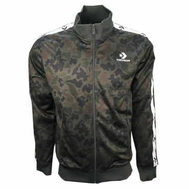 Converse Green Camo Star Chevron Zip Up Tracktop 10007150