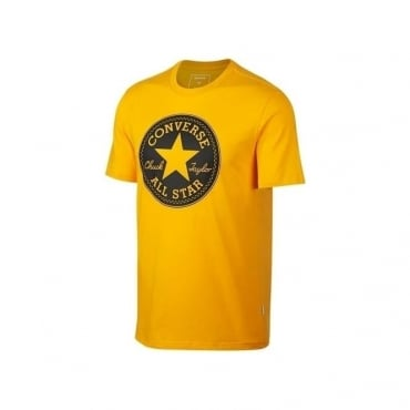 Converse All Star Big Logo T-Shirt 839 Gold Yellow 10006049