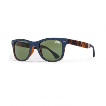 Superdry SDR Solent Sun Sunglasses Rubberised Navy SI3