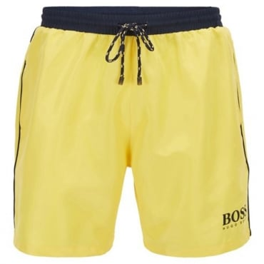 Hugo Boss Starfish Swim Shorts Yellow 722 50269488
