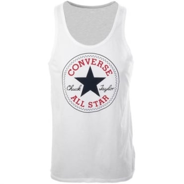 Converse All Star Big Logo Vest White 10002888