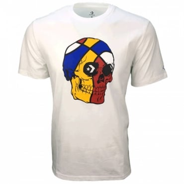 Converse Basketball Skull T-Shirt White 10006888