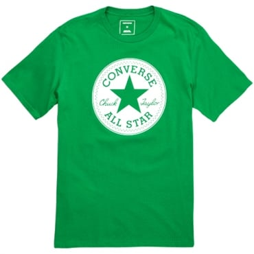 Converse All Star Big Logo T-Shirt 302 Green 10006049