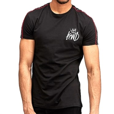 KWD Roxberry Black Jersey Tape T-shirt