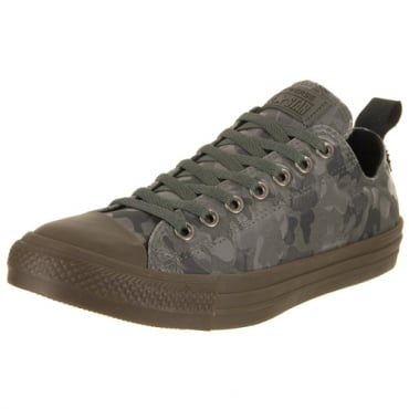 Converse All Star Khaki Grey Camo Print CTAS Ox Trainers 159754C