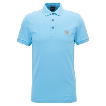 Boss Orange Passenger Pique Polo Light Blue 451 50378334