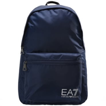 EA7 Emporio Armani Dark Blue Nylon Backpack 275659