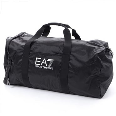 EA7 Emporio Armani Black Gym Holdall Bag 275668