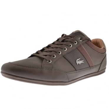 Lacoste Chaymon 118 Dark Brown Trainers