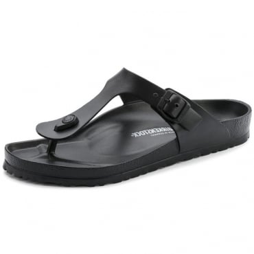 Birkenstock Gizeh EVA Black Toe Post Sandals 0128201