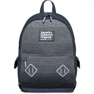 Superdry Knitter Montana Rucksack Backpack Bag Grey 05Q