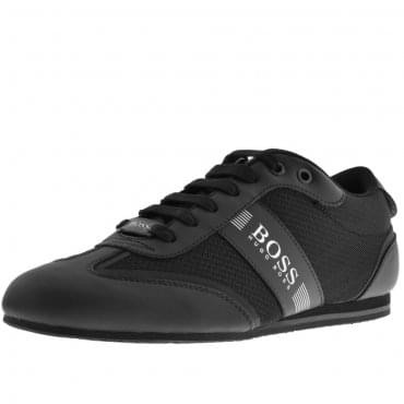 Boss Green Lighter Lowp MXME Black Trainers 50370438