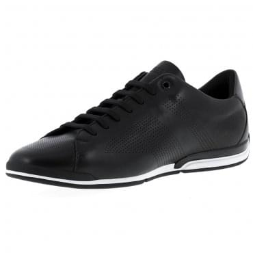 Boss Green Saturn Lowp Lux Black Trainers 50385570