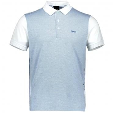 Boss Green Paddy 1 Polo White\Light Blue 50383839