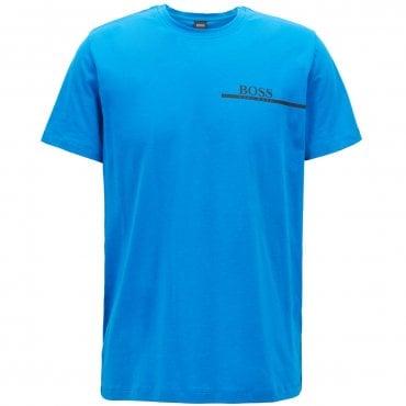 200793784d6 Hugo Boss Bodywear T-Shirt RN 24 Logo Blue 421 50381167