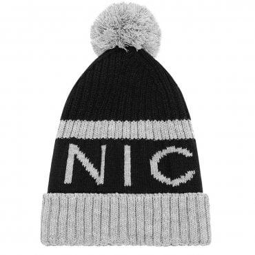 359f63dd NICCE Vorlage Beanie Hat Black/Grey