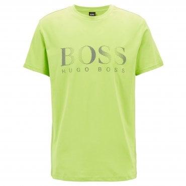55149d2dfe4 Hugo Boss Logo T-Shirt RN Bright Green 320 50332287