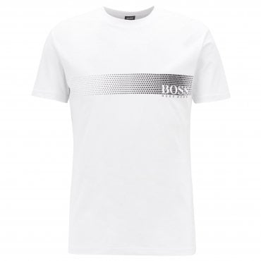 5ee923612ae Hugo Boss Logo T-Shirt RN White 104 50385397 Sale