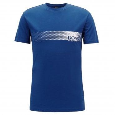 bbb47acec02 Hugo Boss Logo T-Shirt RN Blue 422 50385397