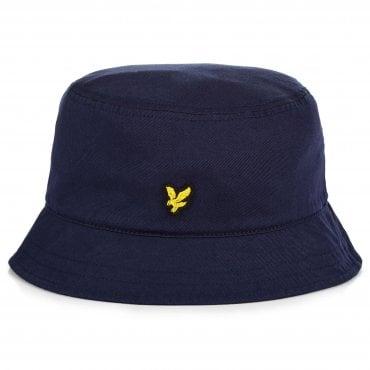 43e80e4f339 Lyle   Scott Logo Navy Bucket Hat HE800A