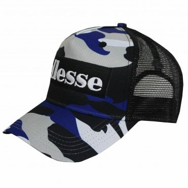 3299f277cf0 Ellesse Trent Baseball Cap Camouflage BLue