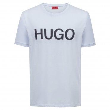 22e30a6e Boss Hugo Dolive Logo T-Shirt Light Blue 454 50406203