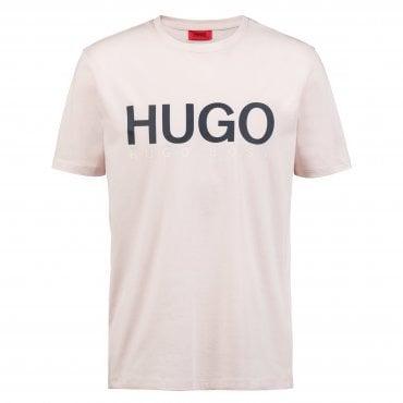 b1e72dbf Boss Hugo Dolive Logo T-Shirt Light Pink 683 50406203