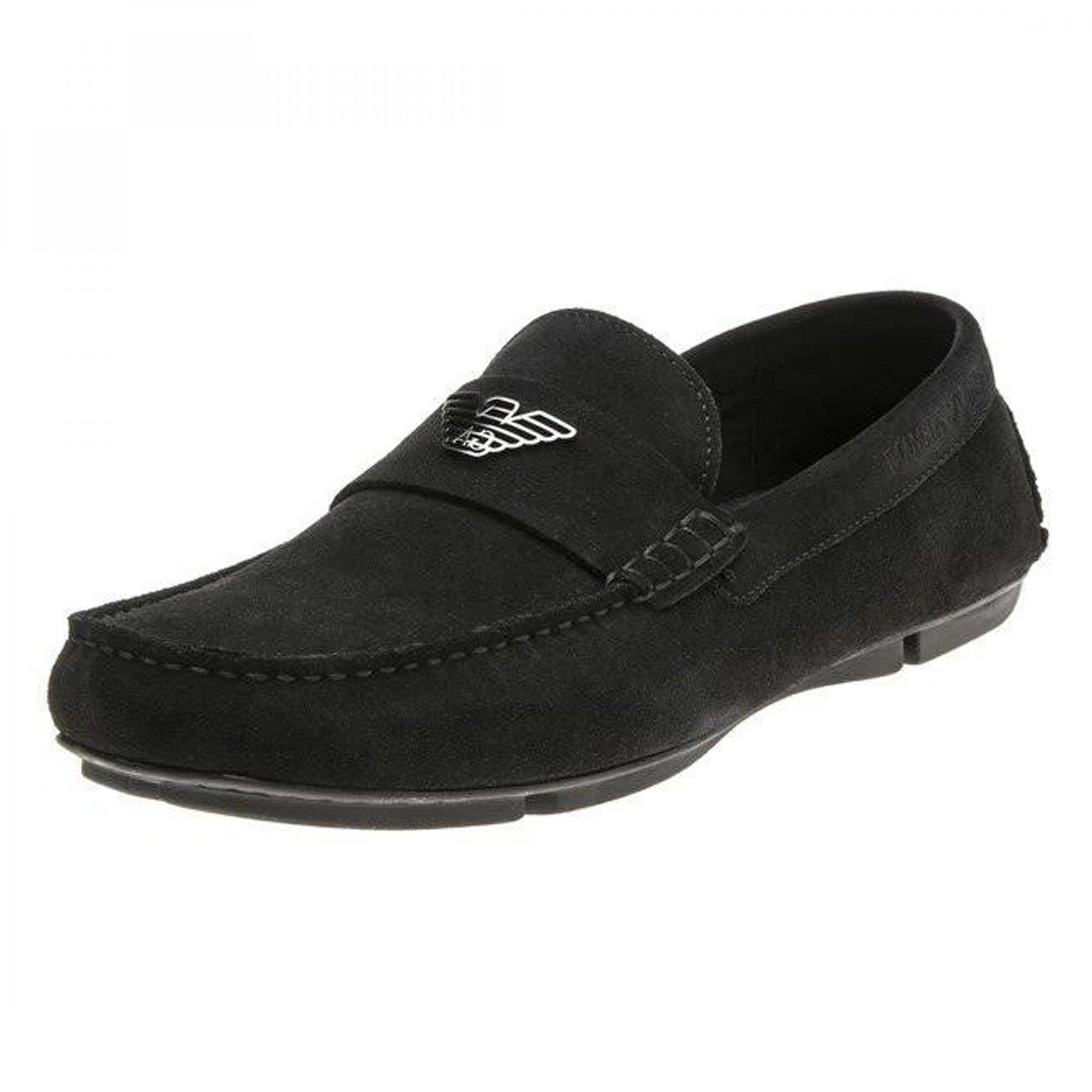 armani slip on shoes