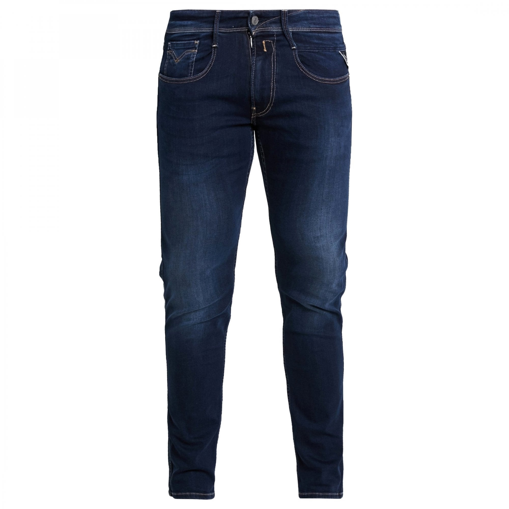 Replay Anbass M914 661 Hyperflex Jeans 007 Dark Blue