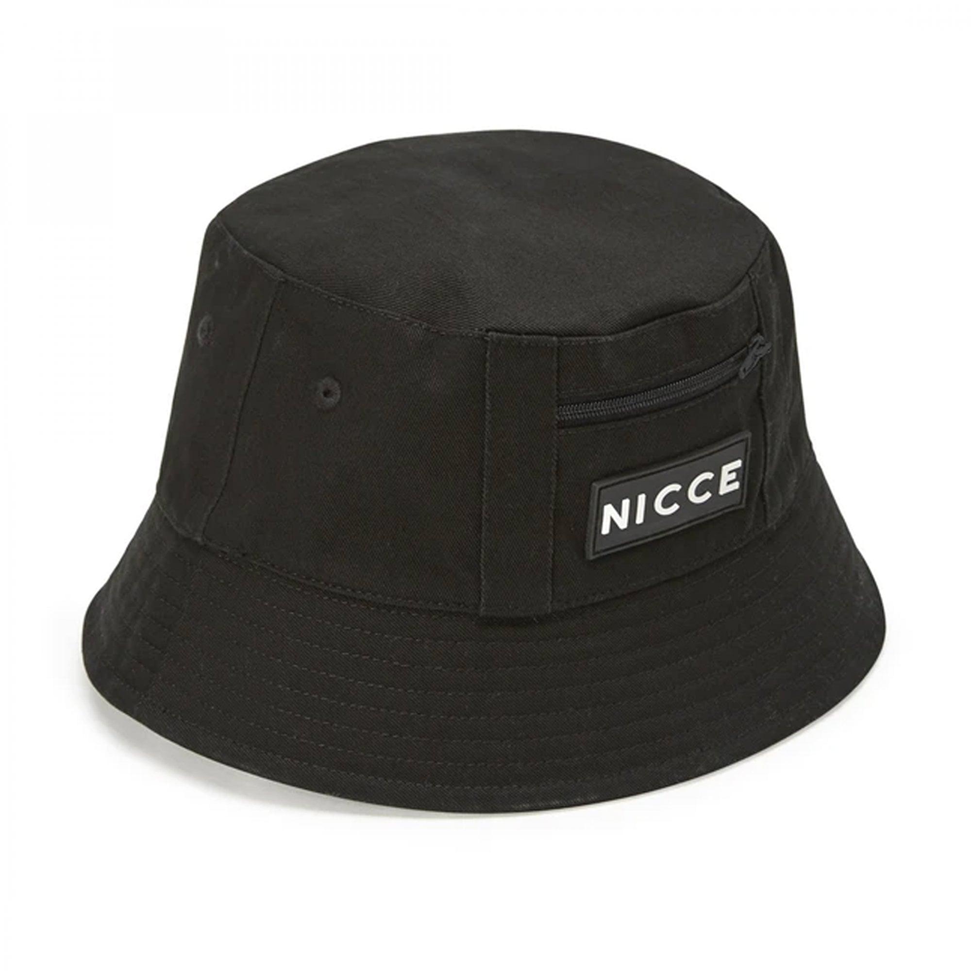 Nicce Acer Rubber Logo Black Baseball Cap