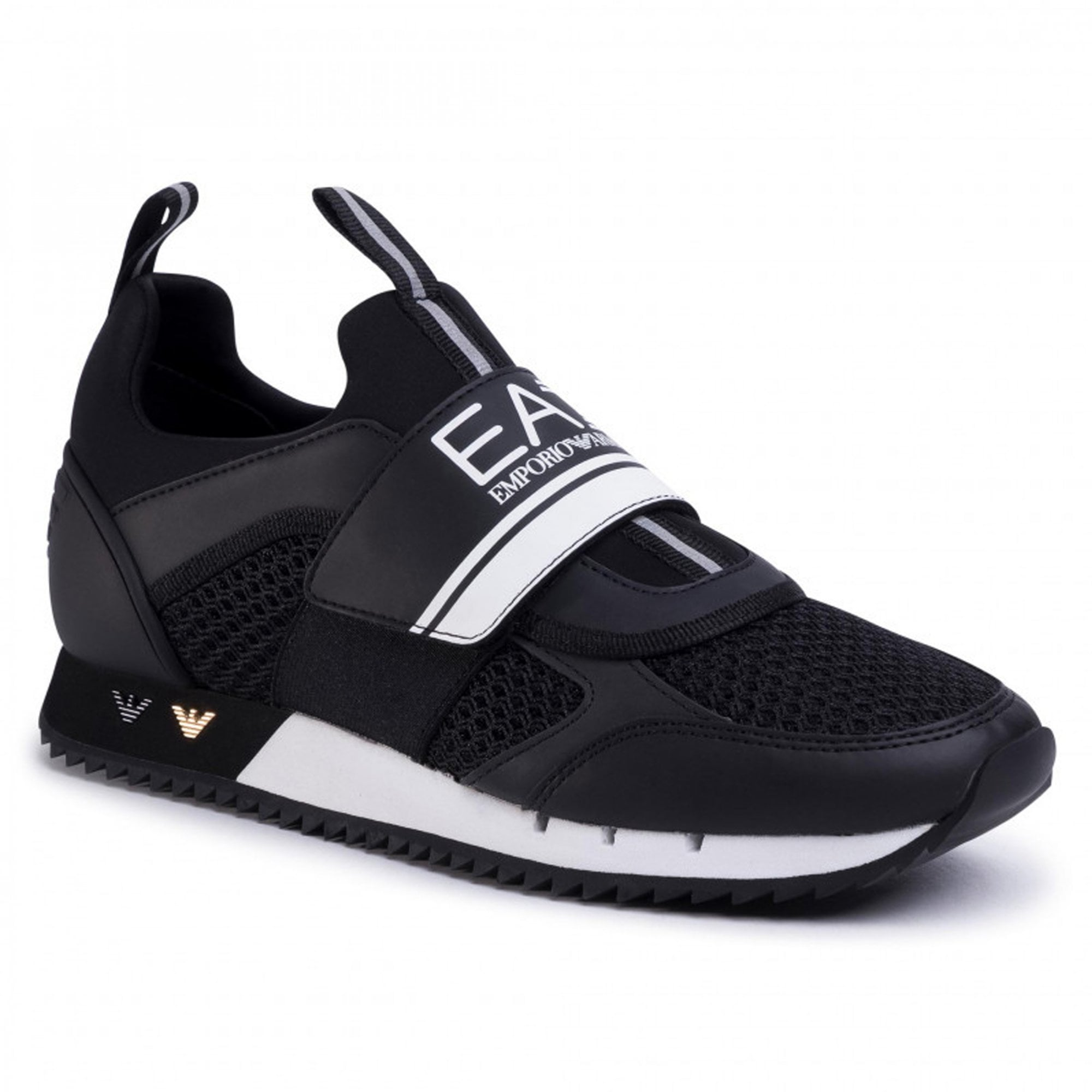 armani velcro runner trainers, OFF 70%,Buy!